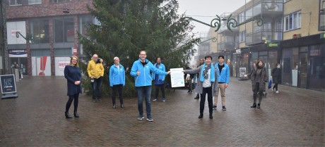 Een enthousiast team voor de campagnedag