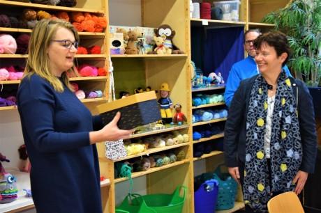 Stichting Delen & meer ontvangt ook kerstwensen voor haar bezoekers